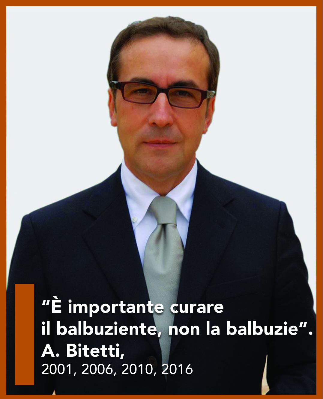 Dr. Bitetti e lo slogan sulla balbuzie